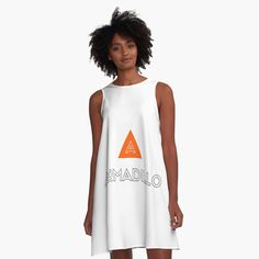 'Armadillo Animal' A-Line Dress by Line, Athletic Tank Tops, Tank Man, Cool Outfits, Costumes, Printed, Awesome, People, Folk