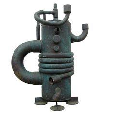 1stdibs.com | Conceptual Teapot Copper Sculpture by Sergei Gritsay - No. 3