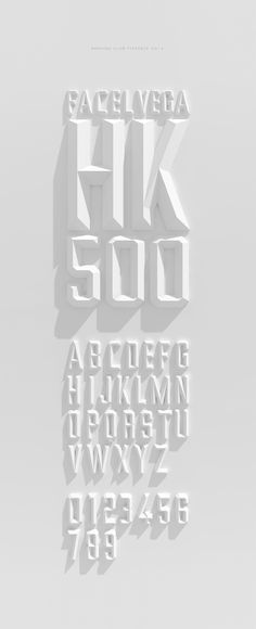 Smoking Club typeface by Rodrigo Aguadé, via Behance