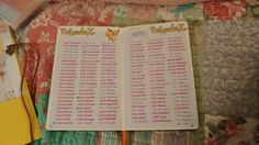 My Pokedex from my bullet journal.