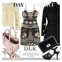 """""""DLR-Luxury Boutique"""" by an1ta ❤ liked on Polyvore featuring SET, Needle & Thread, Jimmy Choo, Yves Saint Laurent, Maison Margiela, Coach and Accessorize"""