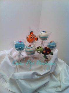 Nemo Party Cake Pops