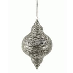 Silver Shell Shape Pendant $149 Mint interior design