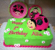 Pink & Green Ladybug... i would have loved this..