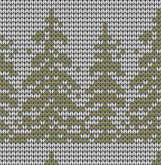 Подбор цветовой гаммы для вязания жаккардового узора Knitting Machine Patterns, Fair Isle Knitting Patterns, Fair Isle Pattern, Knitting Charts, Knitting Designs, Knitting Stitches, Tree Patterns, Craft Patterns, Fair Isle Chart