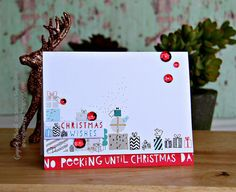 Handmade by G3: Simon Says Stamp December Card Kit Cards #3 and #4...