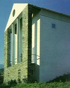 Maison Maggi by Mario Campi & Franco Pessina, arosio, Tessin, 1980