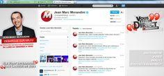 Création Background Twitter de Jean Marc Morandini