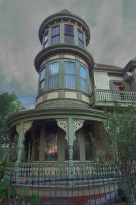New Orleans tower - search in pictures - Victorian home on Exposition Blvd in New Orleans, Louisiana
