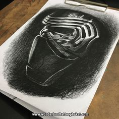 kylo ren from the force awakens by lee howard geek prints pinterest art the force and the. Black Bedroom Furniture Sets. Home Design Ideas