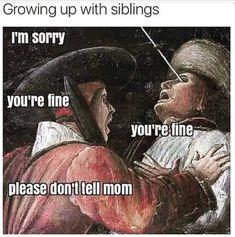 so true,guys #siblings #family #fight #meme #funny #true #chickensmeme