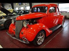 eBay: 1936 Ford Other 1936 Ford Coupe Street Rod Auto 327 vintage air nice ALL STEEL #classiccars #cars