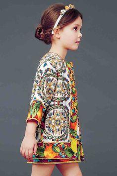 Vivi & Oli-Baby Fashion Life: Vivi&Oli A/W 14 choice - Dolce&Gabbana Fashion Kids, Little Girl Fashion, Little Fashionista, Outfits Niños, Kids Outfits, Trendy Outfits, Dolce And Gabbana Kids, Stylish Kids, Kid Styles