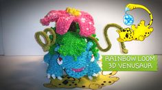 Highly Advanced tutorial for a loom band Venusaur from Pokemon. Please give credit if you use or share, & subscribe for more designs. FOLLOW MY FACEBOOK: www...
