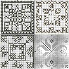 Схемы вышивки крестом бесплатно скачать Бискорню, кривульки, игольницы- ProKrestik.ru