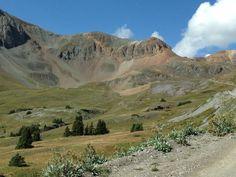 Cinnamon Pass, near Animas Forks Ghost town, Alpine Loop, San Juan Mtns. Colorado