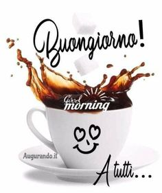 Italian Greetings, Funny Good Morning Quotes, Tea Cups, Tableware, Instagram Posts, Mayo, Dsquared2, Disney, Google