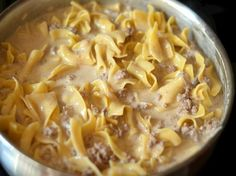 Homemade Hamburger Helper Beef Stroganoff