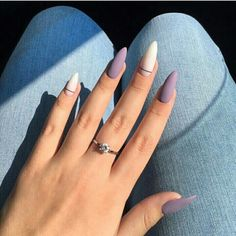 Matte and taupe nails Inspirational women - . - Matte and taupe nails Inspirational ladies - Almond Acrylic Nails, Summer Acrylic Nails, Best Acrylic Nails, Acrylic Nail Designs, Summer Nails, Almond Nail Art, Matte Nail Art, Short Almond Nails, Nails Yellow