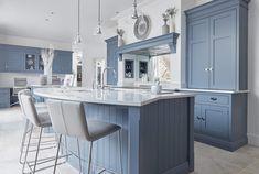 Blue Kitchen Design | Tom Howley