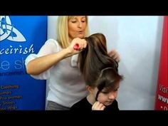▶ How to prepare your hair for a Caitlyn Loose Curl Bun Wig - YouTube