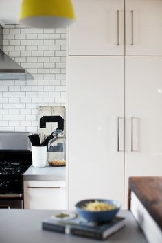I love (what I can see of) this kitchen!