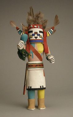 Hopi Havasupai Kachina, c.1950-60