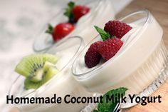 Homemade Coconut Milk Yogurt