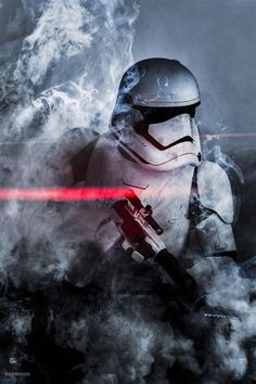 Star Wars - First Order Stormtrooper Star Wars Pictures, Star Wars Images, Pawer Rangers, Star Wars Wallpaper, Star Wars Ships, Star Wars Fan Art, Star War 3, Star Wars Jedi, Star Wars Poster