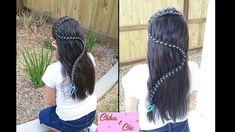 """""""S"""" Braid (4 Strand Lace Ribbon Braid) - Snake Braid  Chikas Chic"""