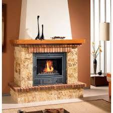 Chimenea ladrillo llar de foc pinterest - Chimeneas rusticas de ladrillo ...