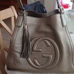 """Spotted while shopping on Poshmark: """"Gucci hobo handbag""""! #poshmark #fashion #shopping #style #Gucci #Handbags"""