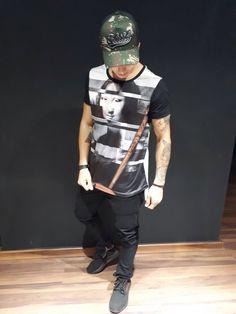 Camiseta RHILD - linha PREMIUM. T-SHIRT PLAYERLISA