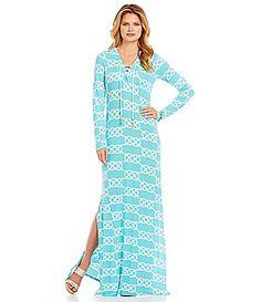 Adrienne Vittadini MystiquePrint Maxi Dress #Dillards | like to ...