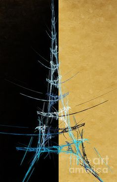 Eiffel Tower abstract.
