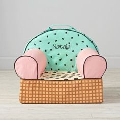 - Ice Cream Entry Level Nod Chair (Includes Cover and Insert)