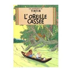 Tintin poster - loreille cassee: Amazon.co.uk: £14.95