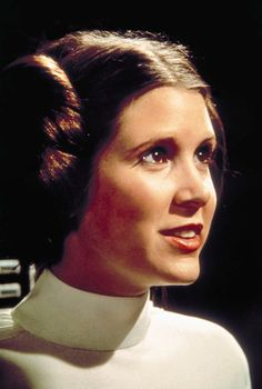 Carrie Fisher, Princess Leia.