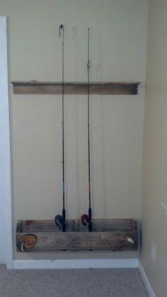 73423316e4c82 12 Best diy fishing rod holder images