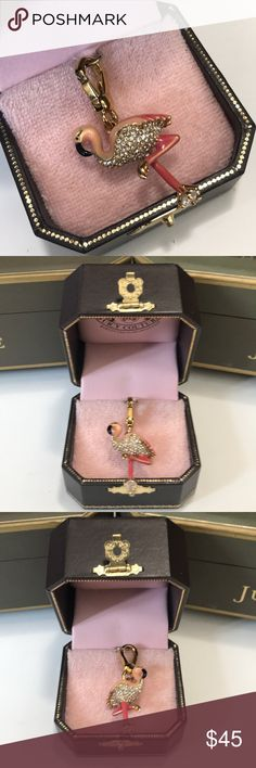 Juicy Couture Flamingo Charm Juicy Couture Flamingo Charm  New without box.  Bundle and save, and reasonable offers  are always welcome.    Juicy Couture Jewelry Bracelets