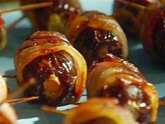 The Bacon Wrapped Dates Stuffed with Parmesan are up with the recipe!