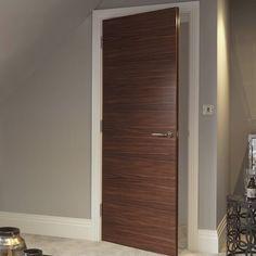 Flush Door Design, Room Door Design, Wooden Door Design, House Design, Contemporary Interior Doors, Interior Door Styles, Interior Modern, Wood Interior Doors, Interior Stairs
