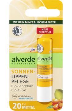 Die alverde Sonnen-Lippenpflege Bio-Sanddorn Bio-Olive hat einen mittleren Lichtschutzfaktor von 20 und schützt mit einem rein mineralischen Filter. Die...