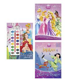 Another great find on #zulily! Disney Princess Royal Fantasy Activity Paperback Set by Disney #zulilyfinds