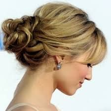 easy updos for medium hair with layers - Google Search