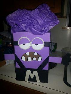 Valentine evil minion box!