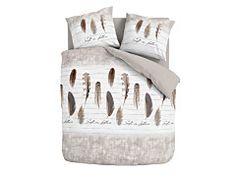 Sada posteľných obliečok na paplón a vankúš s pierkami Comforters, Blanket, Bed, Home, Creature Comforts, Quilts, Stream Bed, Ad Home, Blankets