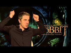 """""""If 'hobbiting around' means that you don't really know what you're doing, I've spent 48 years doing that."""" - Bin Weevils interviews Bofur/James Nesbitt from the movie The Hobbit: An Unexpected Journey"""