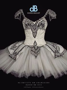 Beautiful black and white tutu