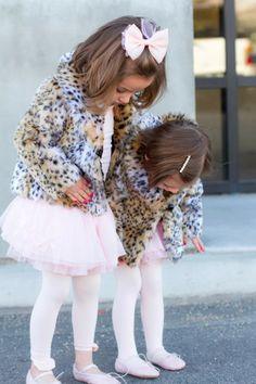 pink tutus and leopard coats